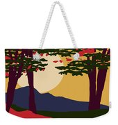 North American Landscape Weekender Tote Bag