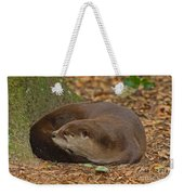 North American River Otter Weekender Tote Bag