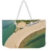 North Avenue Beach And Castaways Restaurant Weekender Tote Bag