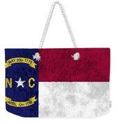 North Carolina Flag Weekender Tote Bag by World Art Prints And Designs