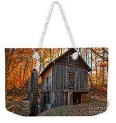 North Carolina Grist Mill Photo Weekender Tote Bag