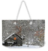 North Carolina Quilt Barn Weekender Tote Bag
