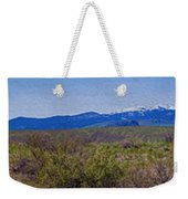 North Cascades Game Range Panorama Weekender Tote Bag