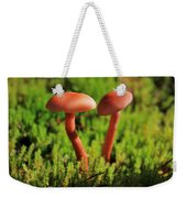 North Cascades Mushrooms Weekender Tote Bag