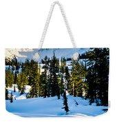 North Cascades Winter Weekender Tote Bag