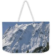 1m4443-north Face Of Big Four Mountain Weekender Tote Bag