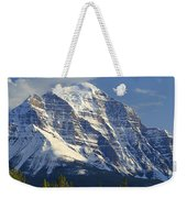 1m3549-north Face Of Mt. Temple Weekender Tote Bag