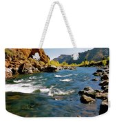 North Fork Of The Shoshone River Weekender Tote Bag