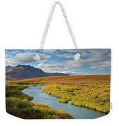 North Klondike River Flowing Weekender Tote Bag