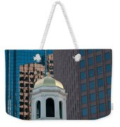 North Meeting Place And Echange Place Weekender Tote Bag