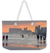 North Myrtle Beach At Sunset Weekender Tote Bag
