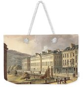 North Parade, From Bath Illustrated Weekender Tote Bag