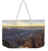 North Rim Sunrise Panorama 2 - Grand Canyon National Park - Arizona Weekender Tote Bag