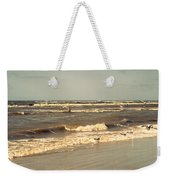 North Sea Coastal Line 1. Holland Weekender Tote Bag