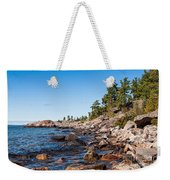 North Shore Of Lake Superior Weekender Tote Bag