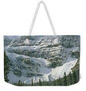 1m3536-north Side Of Crowfoot Mountain Weekender Tote Bag
