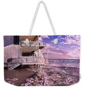North Topsail Beach Tides That Tell Weekender Tote Bag
