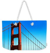 North Tower Golden Gate Weekender Tote Bag