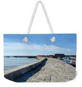 North Wall - Lyme Regis Harbour 2 Weekender Tote Bag