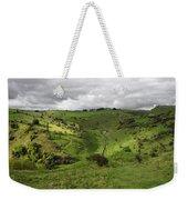 North West - Along Cressbrook Dale Weekender Tote Bag