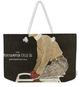Northampton Cycle 1899 Weekender Tote Bag