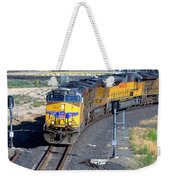 Northbound From Roseville At The Crooked Bridge Weekender Tote Bag