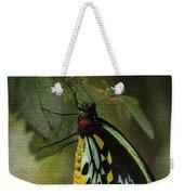 Northern Butterfly Weekender Tote Bag