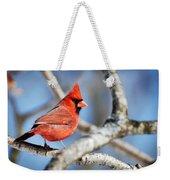 Northern Cardinal Scarlet Blaze Weekender Tote Bag