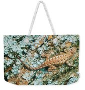 Northern Fence Lizard Weekender Tote Bag