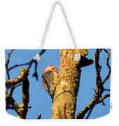 Northern Flicker At Sunrise Weekender Tote Bag