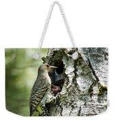 Northern Flicker Nest Weekender Tote Bag
