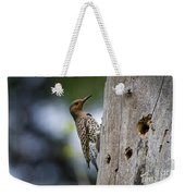 Northern Flicker Pictures 35 Weekender Tote Bag