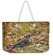 Northern Flicker Woodpecker Weekender Tote Bag