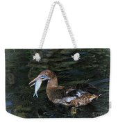 Northern Gannet Feeding Weekender Tote Bag