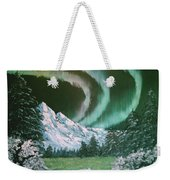 Northern Lights - Alaska Weekender Tote Bag