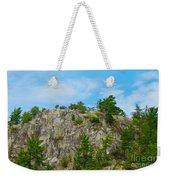 Northern Ontario Rock Face Weekender Tote Bag
