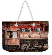 Northern Pacific Vintage Locomotive Train Engine Weekender Tote Bag