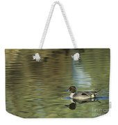 Northern Pintail In A Quiet Pond California Wildlife Weekender Tote Bag