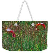 Northern Pitcher Plant In French Mountain Bog On Cape Breton Isl Weekender Tote Bag
