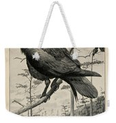 Northern Raven Weekender Tote Bag
