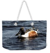 Northern Shoveler Weekender Tote Bag