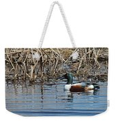 Northern Shoveler Swim Weekender Tote Bag