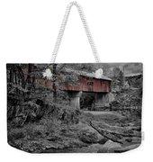 Northfield Falls Bridge Weekender Tote Bag