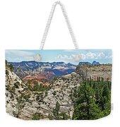 Northgate Peaks Trail From Kolob Terrace Road In Zion National Park-utah Weekender Tote Bag