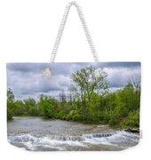 Northrup Road Waterfalls 2158 Weekender Tote Bag