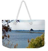 Northside Park Fishing Pier Weekender Tote Bag