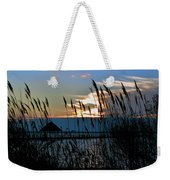 Ocean City Sunset At Northside Park Weekender Tote Bag
