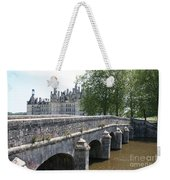 Northwest Facade Of The Chateau De Chambord Weekender Tote Bag