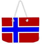 Norway Flag Weekender Tote Bag