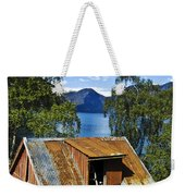 Norwegian Barn House Weekender Tote Bag